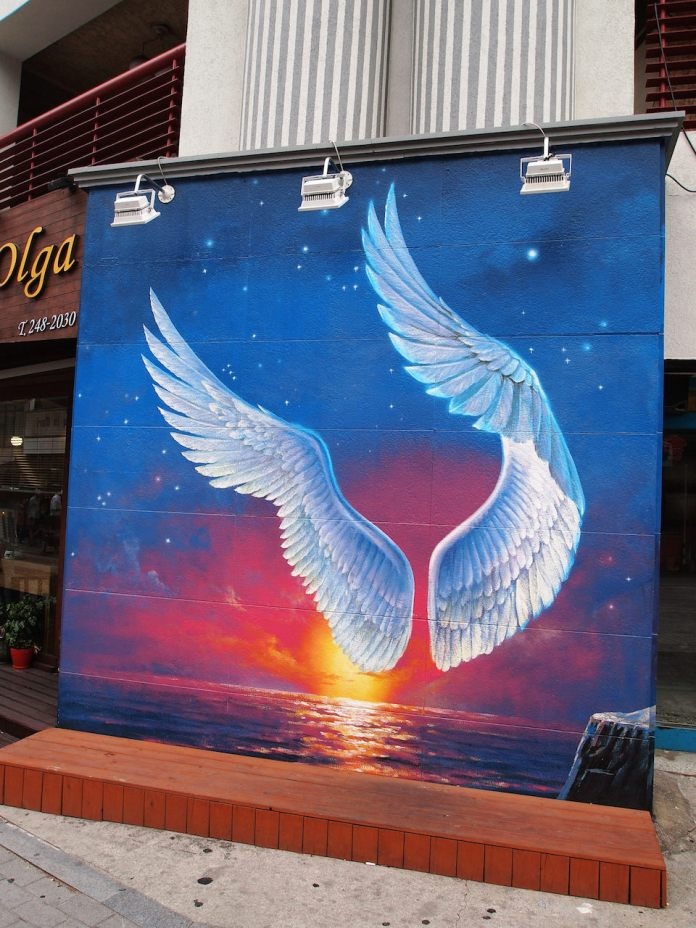 Street Art fromSeoul Area, South Korea. Photo byMark Johnson52