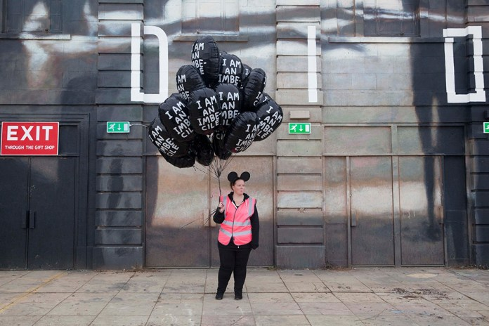 Street Art by Banksy and other artists in London, England - Dismaland 17
