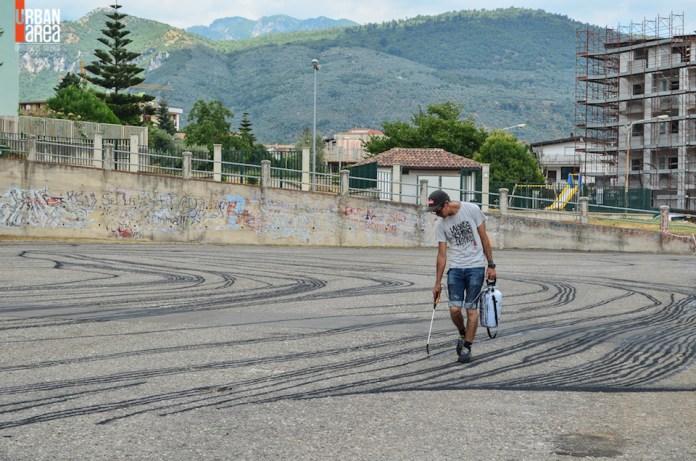 Street Art By Ella & Pitr in Quadrivio di Campagna, Salerno, Italy 9
