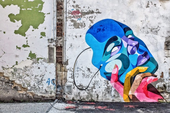 Street Art by Alber Vtimes in Old Bordeaux, France. Photos by Isafan 33.