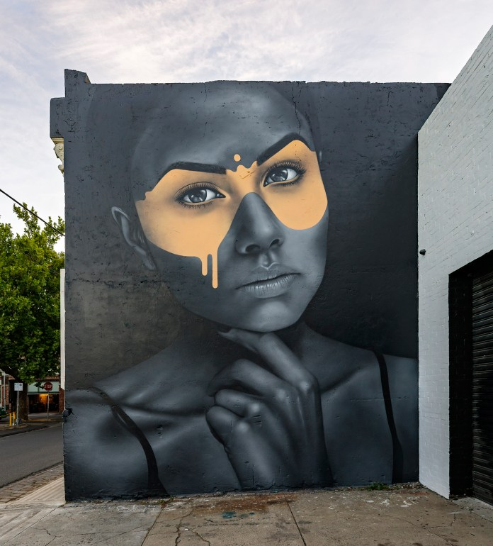 Street Art by Fin DAC in Fitzroy, Melbourne, Australia Photo by Andrew.