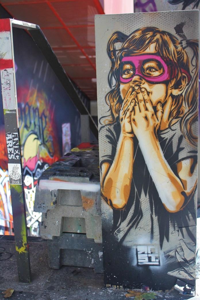 Street Art by Street Artist RNST in Paris, France