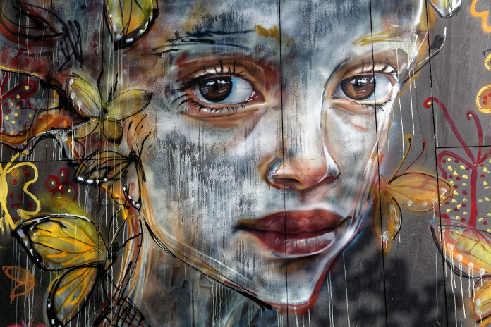 #StreetArt by #Herakut in #Berlin, #Germany