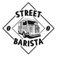 streetbarista logo zwart wit