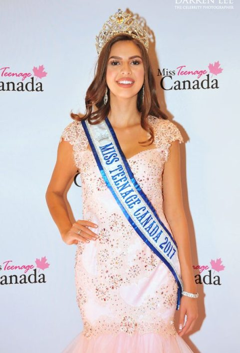 Emma Morrison, The winner of Miss Teen Canada 2017