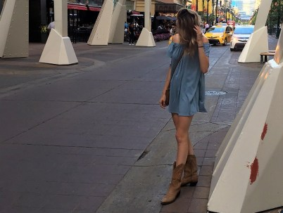 Calgary fashion on Stephen ave