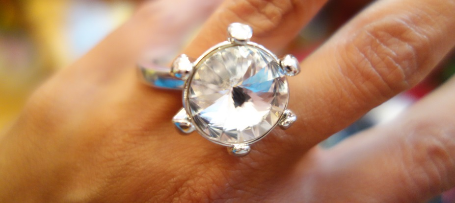 street chic glass ring