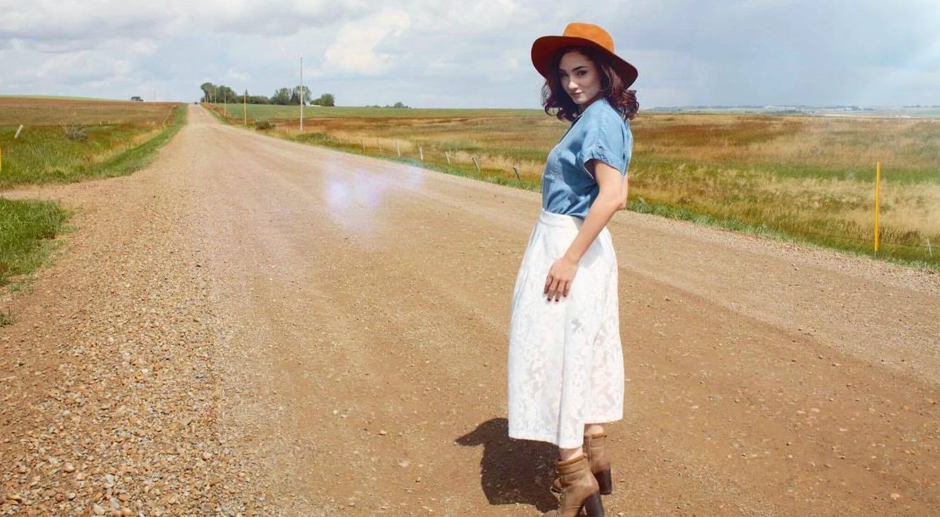 Airdrie Alberta fashion in rural wheat fields and farms