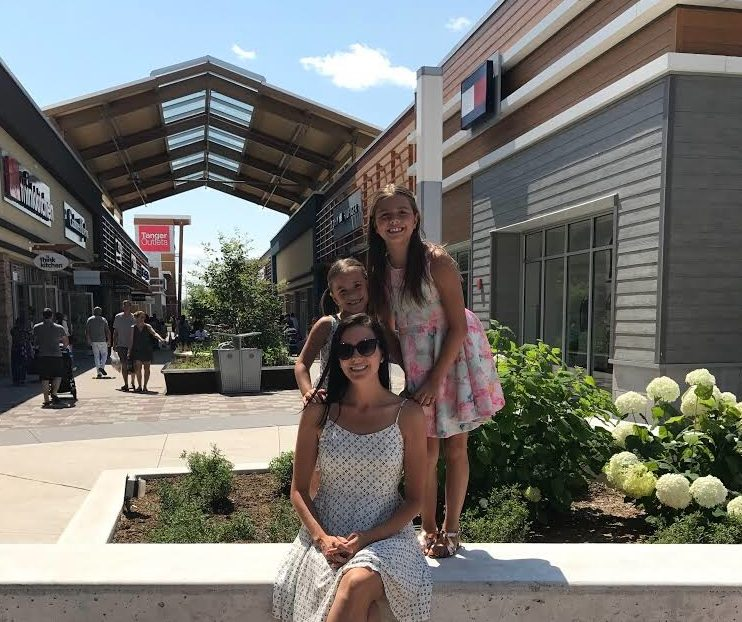 family fashion in Ottawa at the outlet mall