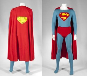 the original superman costume