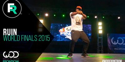 Ruin l FRONTROW | World of Dance Finals 2015 | #WODFINALS15