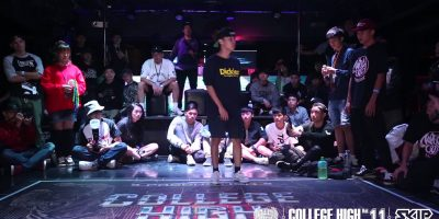 Bboy Judge Demo:CHACK (TOP COALITION & FORMOSA) | 20151010 College High Vol.11 STAGE2