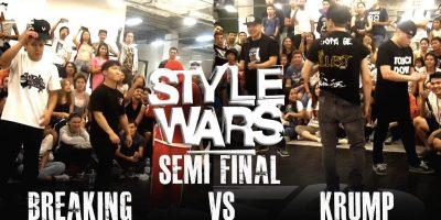 STYLE WARS 3*3 1/2 FINAL   BREAKING VS KRUMP
