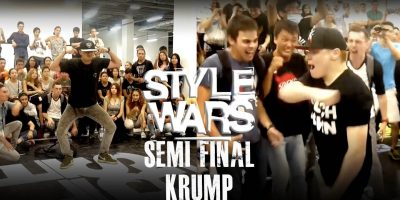 KidTerrorAttack vs Taker | Krump 1/2 Final | Style Wars 2016