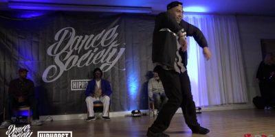Popping John Vs Bin | Popping Semifinals | Dance Society Vol 2 | BNC