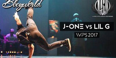 J-One vs Lil G I WPS 2017 I Bboy World