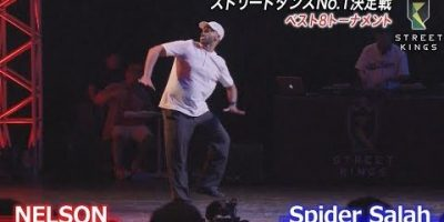 STREET KINGS vol.2 in大阪 ベスト8 NELSON vs Spider Salah ストリートダンス世界一決定戦 AbemaSPECIAL【AbemaTV】