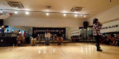 JJ vs Ringo Winbee(エンジェライズ) BEST8 DANCE ALIVE HERO'S 2018 KIDS TOHOKU vol.1