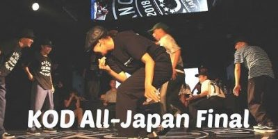 Final. Ol'Loco and Masato from RoadDogz vs the Challenger. KOD All-Japan locking.