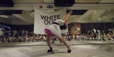 IBUKI(BAD QUEEN) JUDGE DEMO WHITE OUT TOKYO vol.4 WAACKIN DANCE BATTLE
