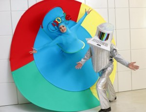 Google costumes, silver surfer costumes, bespoke entertainers