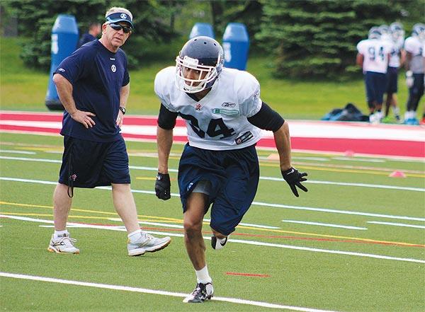Toronto Argonauts hopeful Eric Black