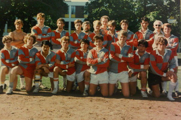 North Toronto rugby team 1985