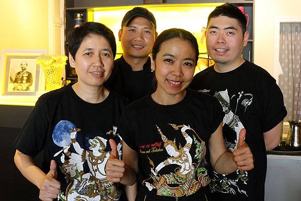 Staff of new Thai restaurant Bolan.