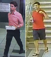SUSPECT: Police are looking for a man they believe committed several sexual assaults. At left, surveillance image from Yonge-Eglinton area; at right surveillance image from Yonge-Bloor subway.