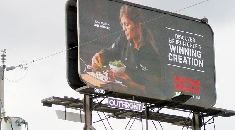 billboard on Eglinton