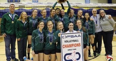 Havergal volleyball team