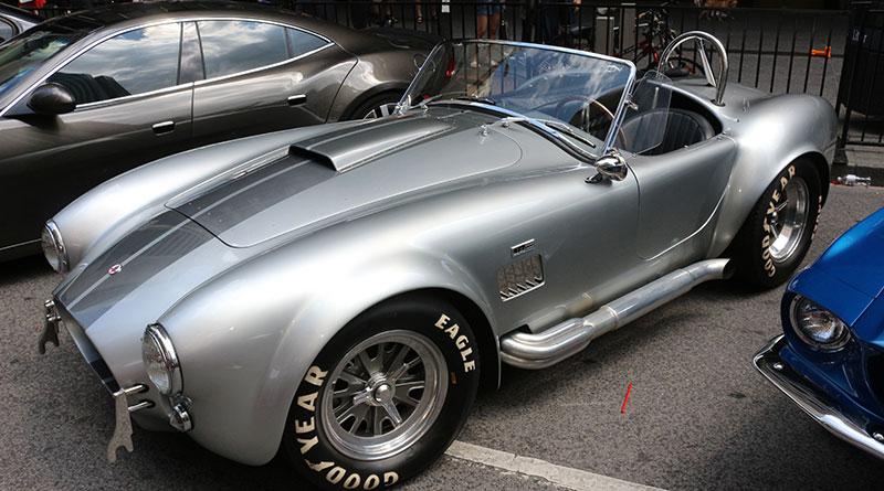 Car at Exotic Car Show