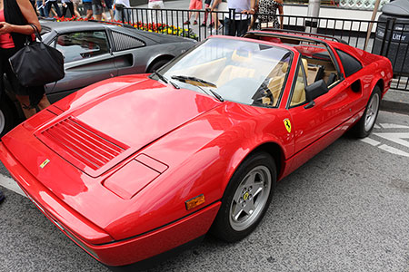 Ferrari at Exotic Car Show