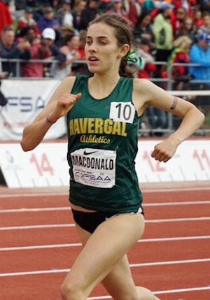 Martha MacDonald running