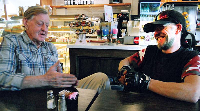 John Rutherford and Marek Aubin share their stories
