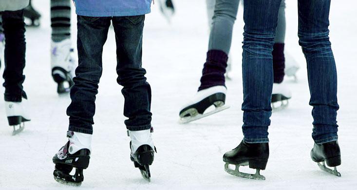 community skate on Family Day