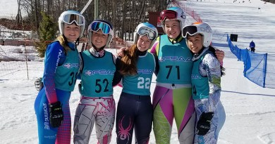 Bishop Strachan's senior skiers
