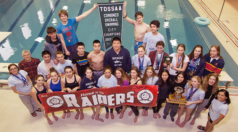 Riverdale CI swim team