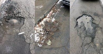 potholes pictures