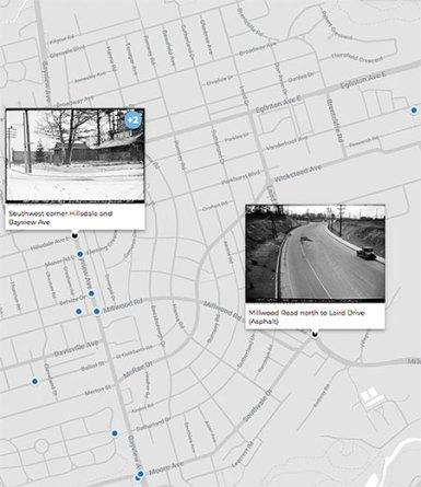 OldToronto map for Leaside