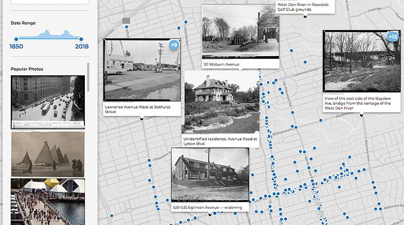 Old Toronto map for North Toronto