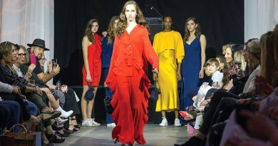 Catwalk scene from Miraki fashion show