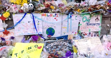 Tributes after van attack