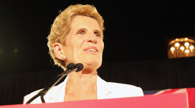 Kathleen Wynne speech