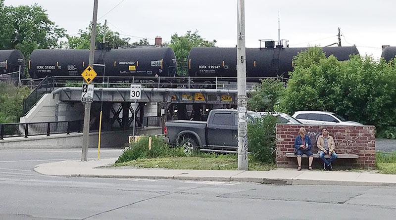 rail versus piplines
