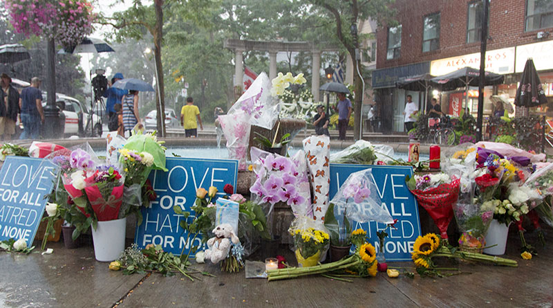 Danforth Strong floral tributes