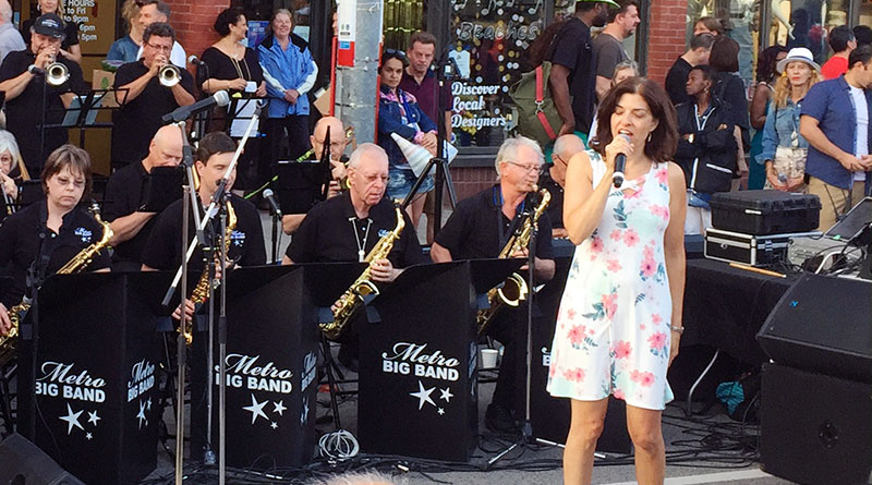 Beaches Jazz Festival big band