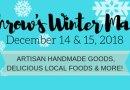 Dec. 14–15: Winter market on Carlaw