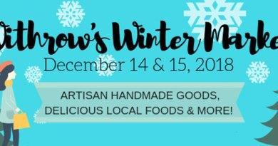 Dec. 14–15: Winter market on Carlaw