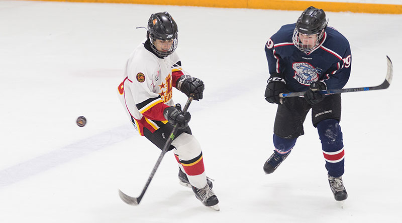 Leaside Flames versus George Bell Titans